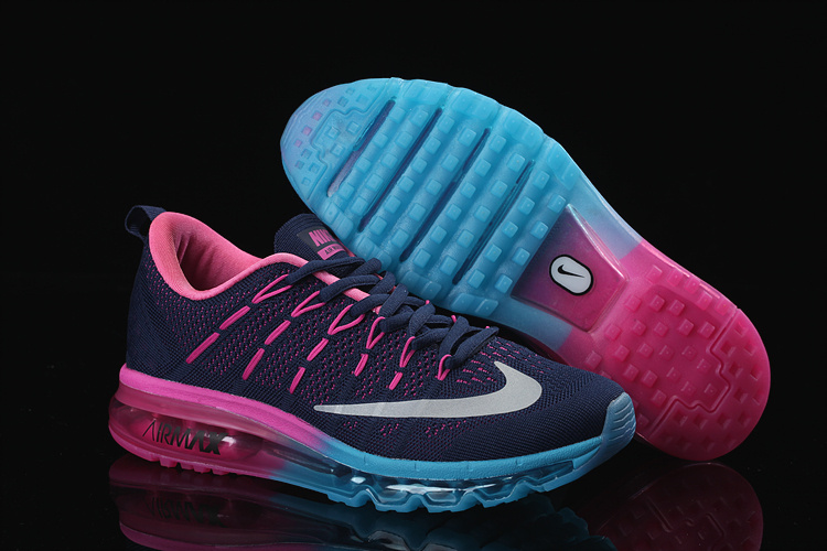 more photos 4eda7 f0255 nike air max pas cher femme bleu rouge